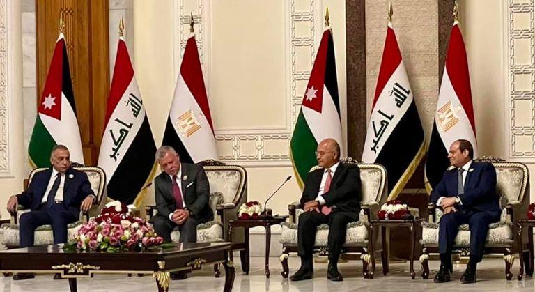 Photo of اختتام أعمال القمة الثلاثية العراقية المصرية الأردنية في بغداد