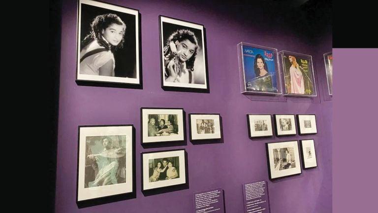 Photo of معرض يحتفي بنجمات الموسيقى العربية