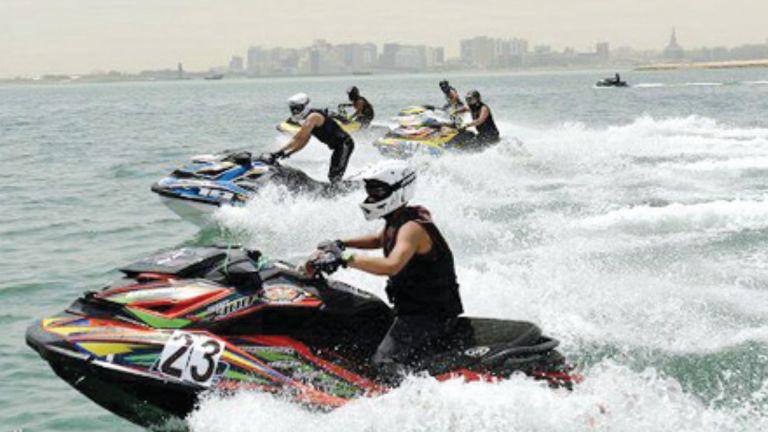 Photo of ماراثون الدراجات المائية يشعل شاطئ كتارا