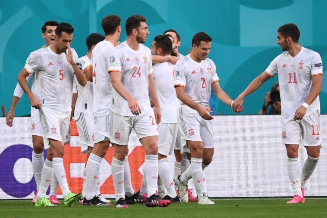 Photo of إسبانيا تحجز مكانها في نصف النهائي بفوزها على سويسرا