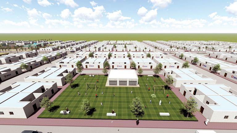 Photo of قطر الخيرية تبني مدينة سكنية جديدة للنازحين السوريين