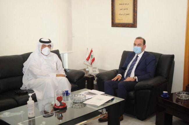 Photo of وزير الزراعة اللبناني يجتمع مع سفيرنا لدى بيروت