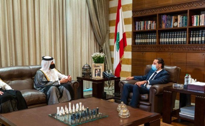 Photo of نائب رئيس مجلس الوزراء وزير الخارجية يجتمع مع الرئيس المكلف بتشكيل الحكومة اللبنانية
