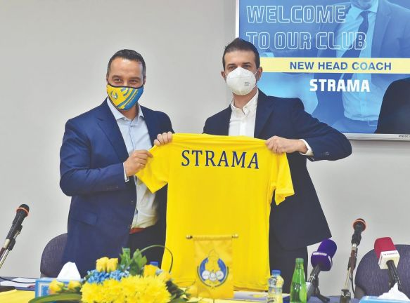 "Photo of ""الغرافة"" يعلن تعاقده رسميا مع المدرب الإيطالي اندريا ستراماتشيوني"