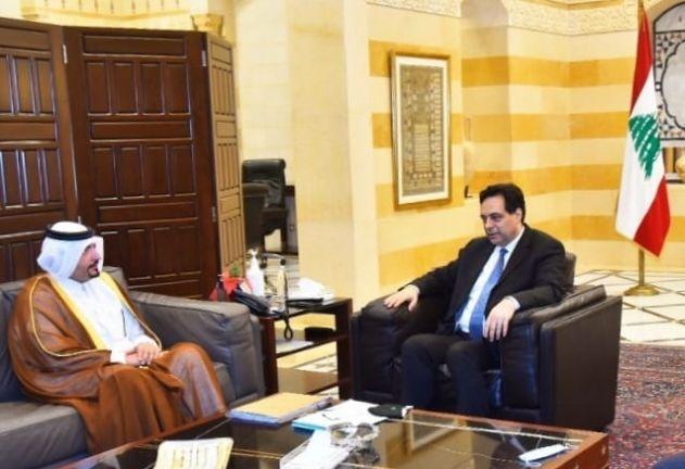 Photo of رئيس حكومة تصريف الأعمال اللبنانية يجتمع مع سفير قطر