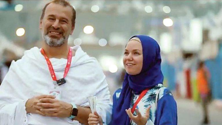 Photo of روسية تختار الحج مهرًا لها من زوجها