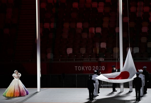 Photo of انطلاق حفل افتتاح الأولمبياد في الاستاد الأولمبي بطوكيو