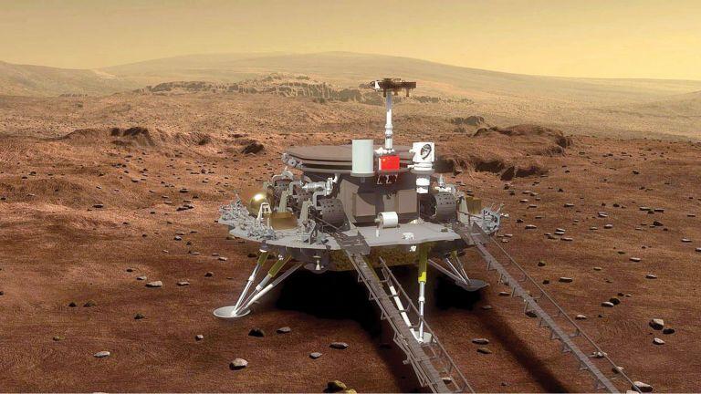Photo of مركبة تقطع نصف كيلو متر على المريخ