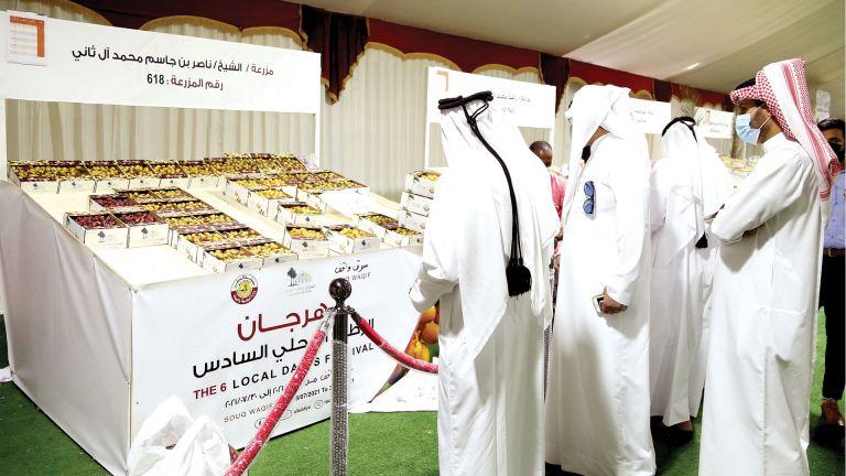Photo of 68 طنًا حجم مبيعات مهرجان الرطب
