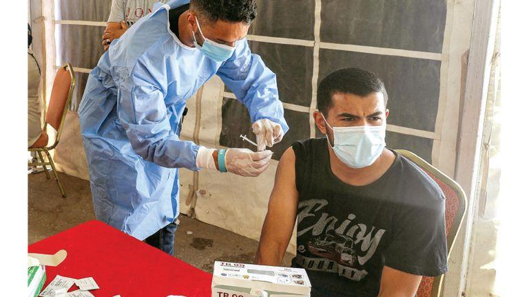Photo of مراكز ميدانية للتلقيح في طرابلس الليبية