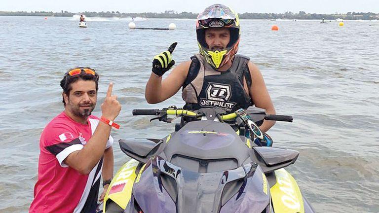 Photo of بطلنا القطري خالد المهندي يتوج بلقب بطولة أوروبا للدراجات المائية