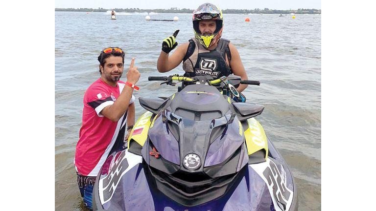 Photo of خالد المهندي يتصدر مونديال الدراجات المائية