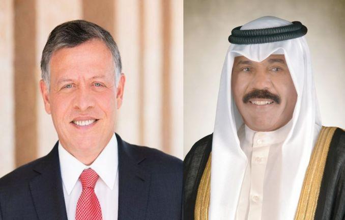 Photo of أمير الكويت والعاهل الأردني يبحثان سبل تعزيز العلاقات الثنائية