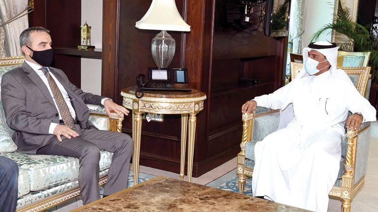 Photo of الأمين العام للخارجية يجتمع مع سفيري تونس وكوسوفا