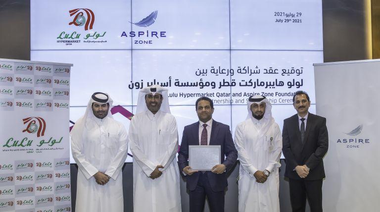 Photo of أسباير زون توقع اتفاقية تعاون مع واحدة من أكبر سلاسل البيع بالتجزئة في آسيا والشرق الأوسط