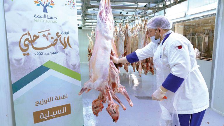 Photo of مركز حفظ النعمة يدعم 1400 أسرة متعففة