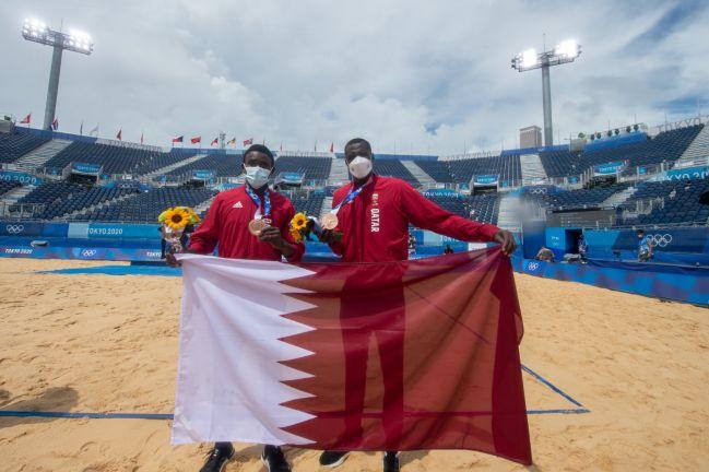 Photo of طائرتنا الشاطئية تحصد البرونزية في انجاز أولمبي جديد