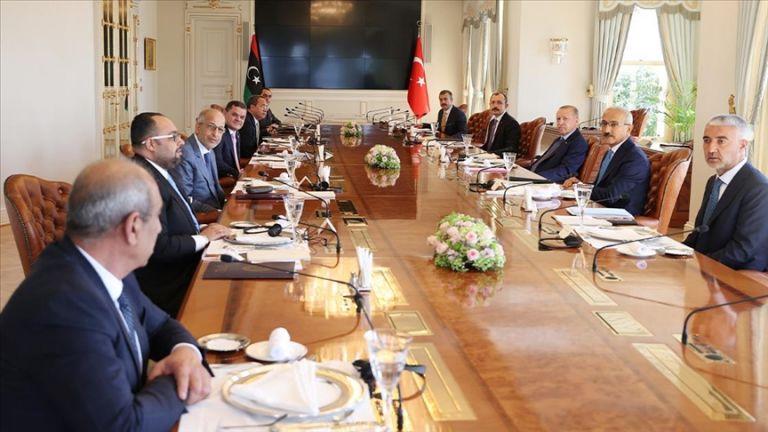 Photo of الرئيس التركي يلتقي رئيس حكومة الوحدة الوطنية الليبية