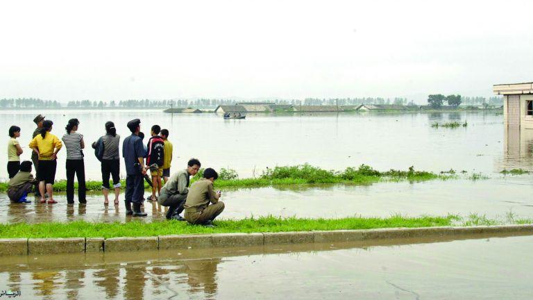 Photo of الفيضانات تشرد الآلاف في كوريا الشمالية