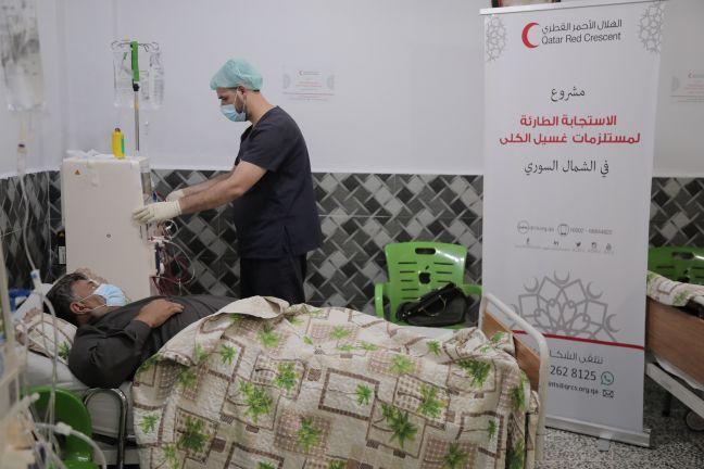 Photo of الهلال الأحمر القطري يفتتح أول مركز غسيل كلى في منطقة رأس العين شمال سوريا