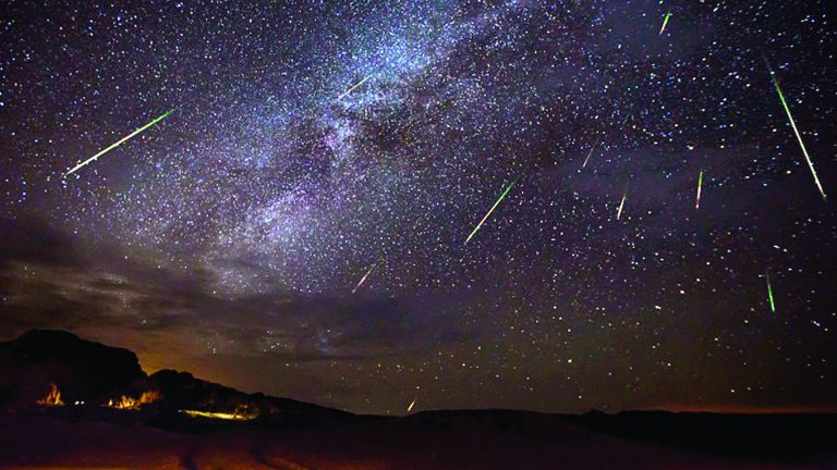 Photo of شهب البرشاويات تسطع في سماء قطر