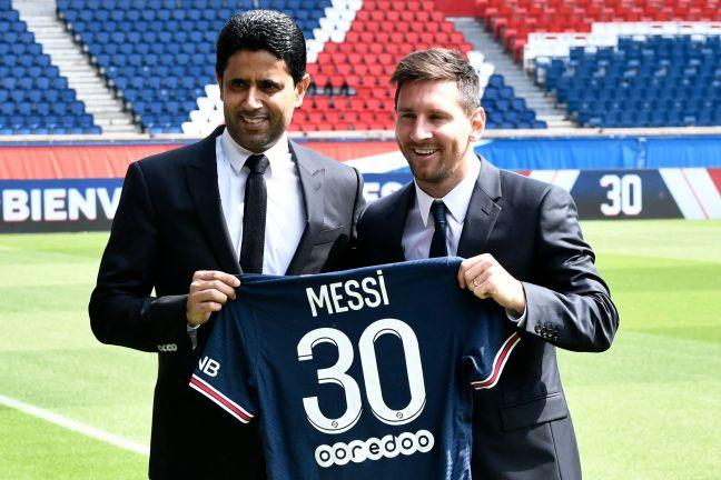 Photo of ناصر الخليفي: التعاقد مع ميسي حدث تاريخي ليس فقط في الكرة الفرنسية بل في الكرة العالمية