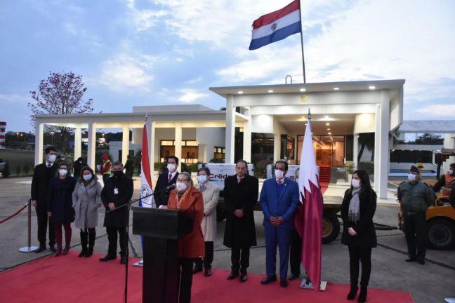 Photo of وصول الدفعة الثالثة من المساعدات الطبية المقدمة من قطر إلى الباراغواي