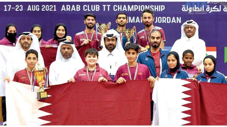 Photo of العنابي يحصد 19 ميدالية ملوّنة في الطاولة العربية
