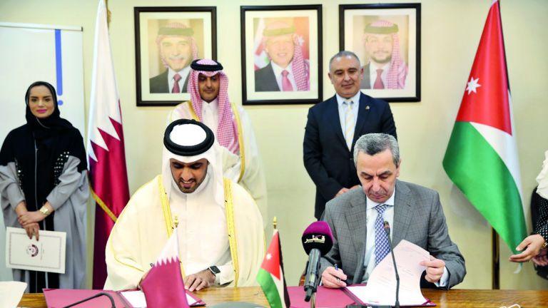 Photo of صندوق قطر للتنمية يدعم تطوير التعليم في الأردن
