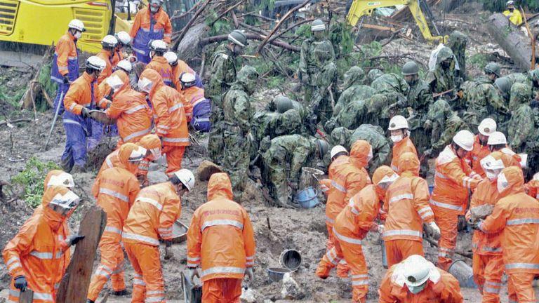 Photo of تحذيرات في اليابان من وقوع كوارث