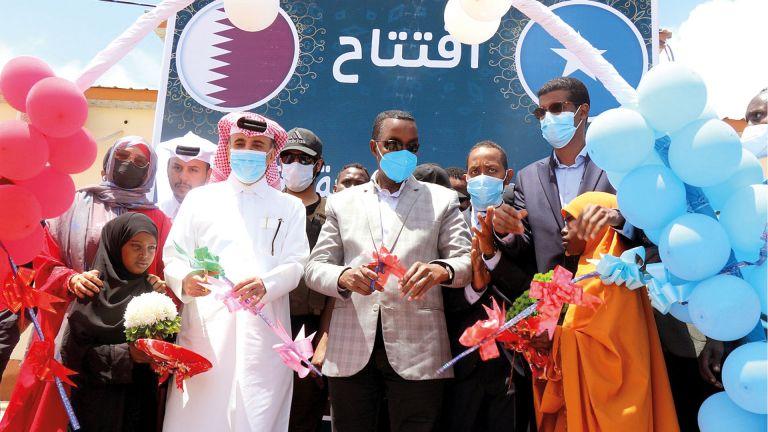 Photo of قطر الخيرية تفتتح مركزًا صحيًا بالصومال