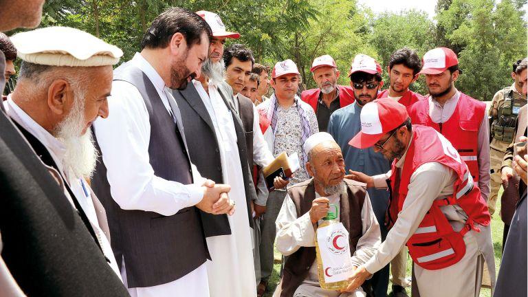 Photo of استجابة إنسانية عاجلة لإغاثة أفغانستان