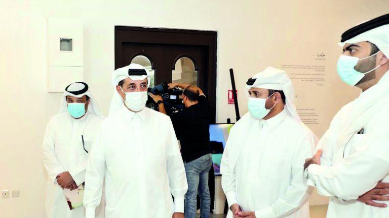 Photo of افتتاح معرض علي النعمة في كتارا