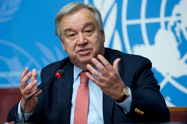 Photo of الأمين العام للأمم المتحدة يعرب عن تقديره لمنحة دولة قطر لمساعدة الأسر المتعففة في غزة