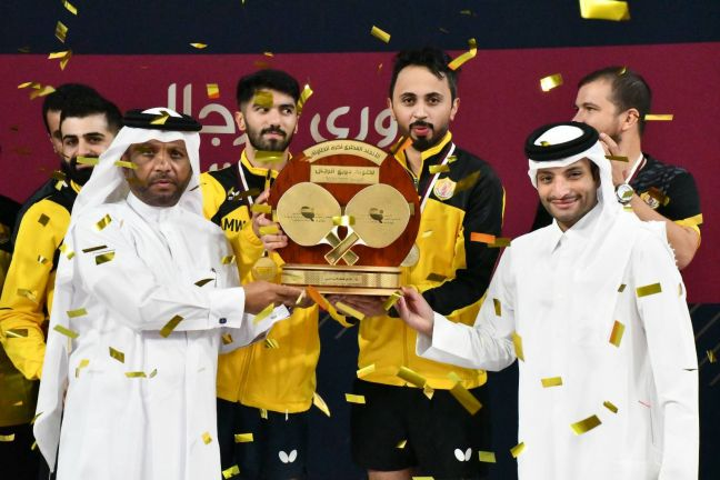 Photo of نادي قطر يتوج بلقب دوري كرة الطاولة للرجال للموسم الرياضي 2020-2021