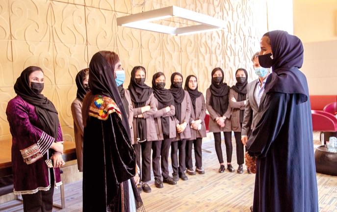 """Photo of مؤسسة قطر تمنح فريق """"الفتيات الأفغانيات للروبوتات"""" فرصة الدراسة في المدينة التعليمية"""