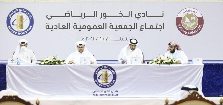 Photo of اعادة فتح باب الترشح لانتخابات نادي الخور