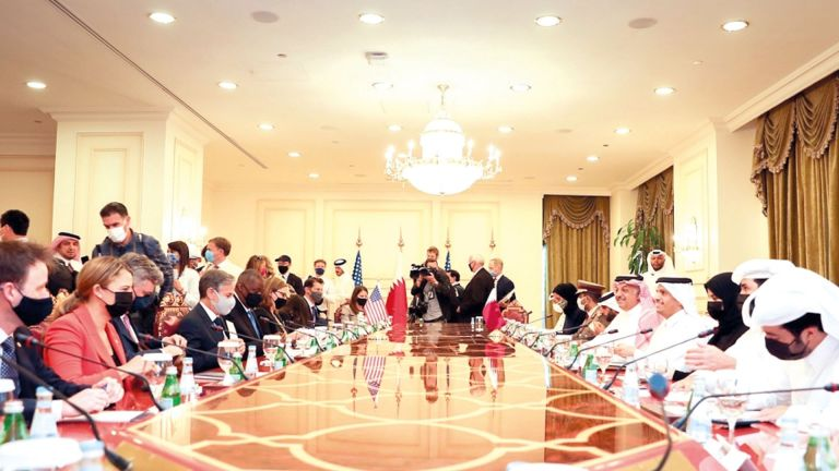 Photo of قطر وأمريكا تبحثان التطورات في أفغانستان
