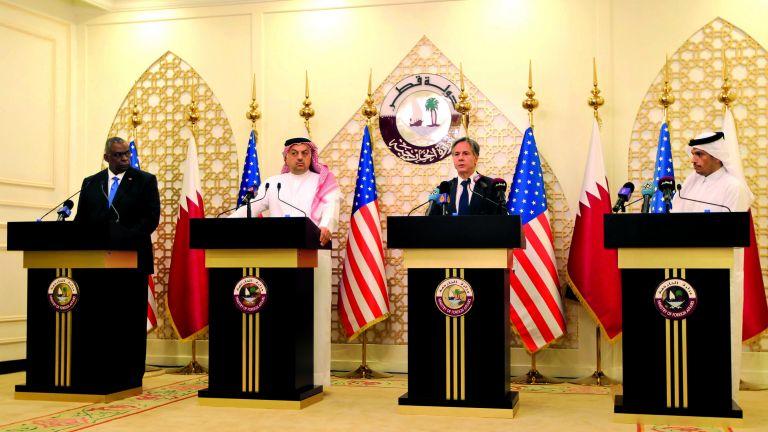 Photo of تنسيق قطري أمريكي مستمر بشأن أفغانستان