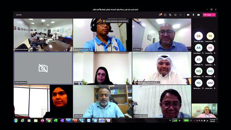 Photo of اجتماع تشاوريّ لتطوير مواصفات أجهزة التكييف والتبريد