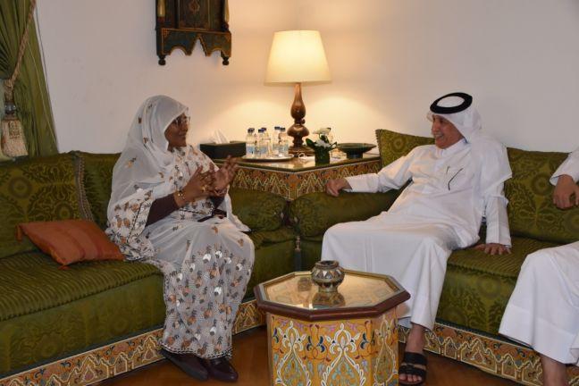 Photo of وزير الدولة للشؤون الخارجية يلتقي وزيرة خارجية السودان