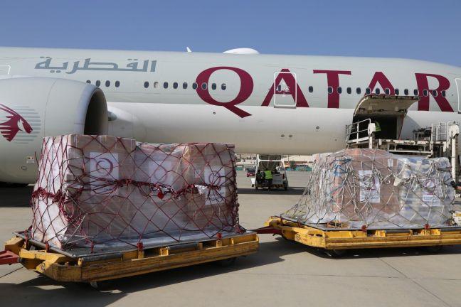 Photo of وصول خامس طائرة قطرية تحمل مساعدات إنسانية إلى كابول