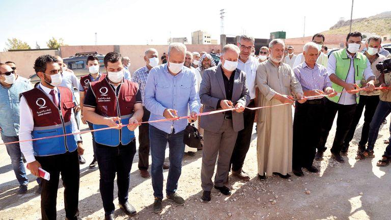 Photo of قطر الخيرية تضع حجرَ الأساس لمدرسة بالشمال السوري