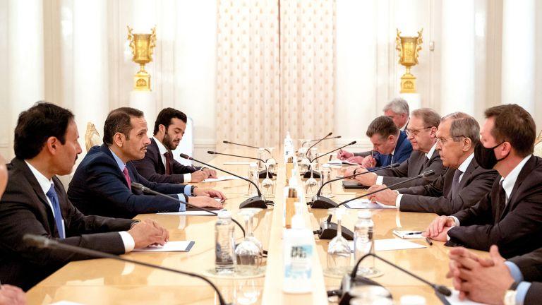 Photo of مباحثات قطرية روسية تتناول التطوّرات الأفغانية