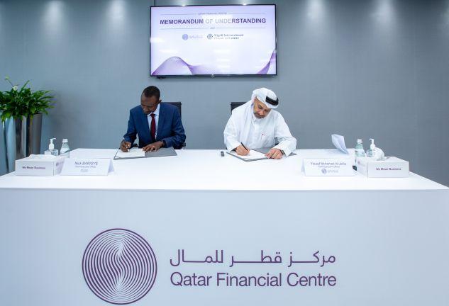 Photo of مركز قطر للمال ورواندا فاينانس يوقعان مذكرة تفاهم لتعزيز التعاون المشترك بينهما