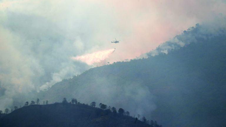 Photo of حريق غابات لليوم الخامس في إسبانيا