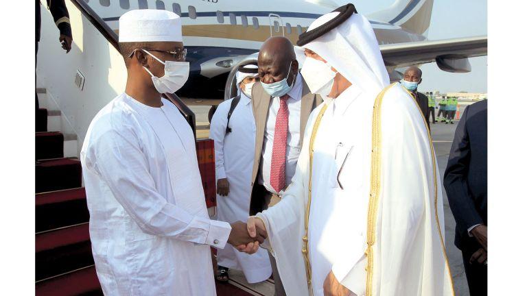 Photo of رئيس المجلس العسكري التشادي يصل الدوحة