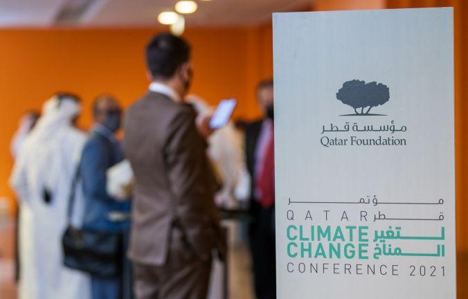 Photo of مؤسسة قطر تعقد النسخة الأولى من مؤتمر قطر لتغير المناخ 2021