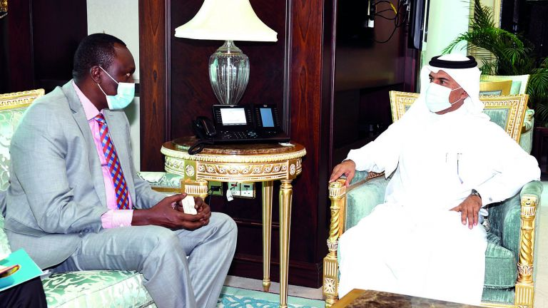 Photo of أمين عام الخارجية يجتمع مع وكيل وزارة الخارجية بجمهورية جنوب السودان