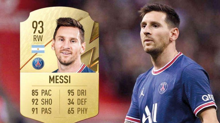 Photo of ميسي الأعلى تصنيفًا في «FIFA 22»